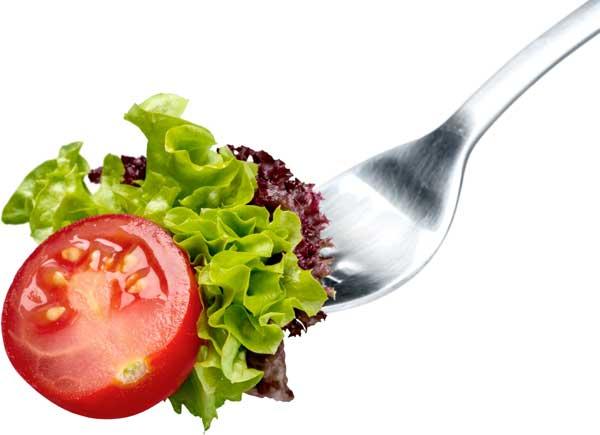 Bild-Salat-Gabel